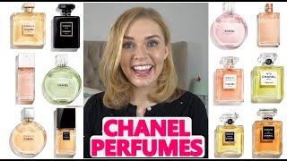 EVERY CHANEL PERFUME! | THE CHANEL PERFUME RANGE | Soki London
