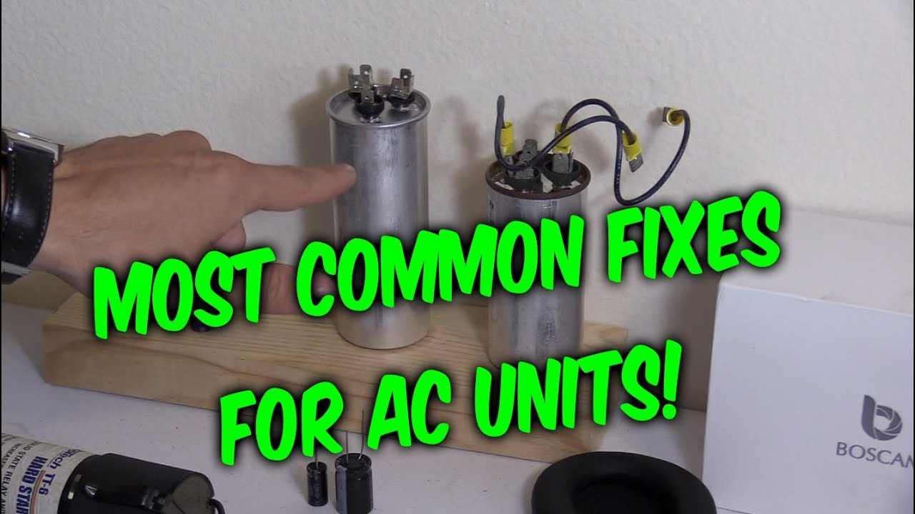 4 WAYS TO FIX AC UNIT FAN NOT BLOWING COLD AIR / NOT WORKING