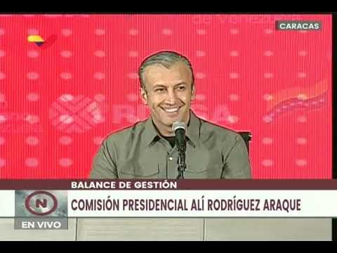 Maduro en Balance de Comisión Presidencial Alí Rodríguez Araque y Firma de Contrato Colectivo PDVSA