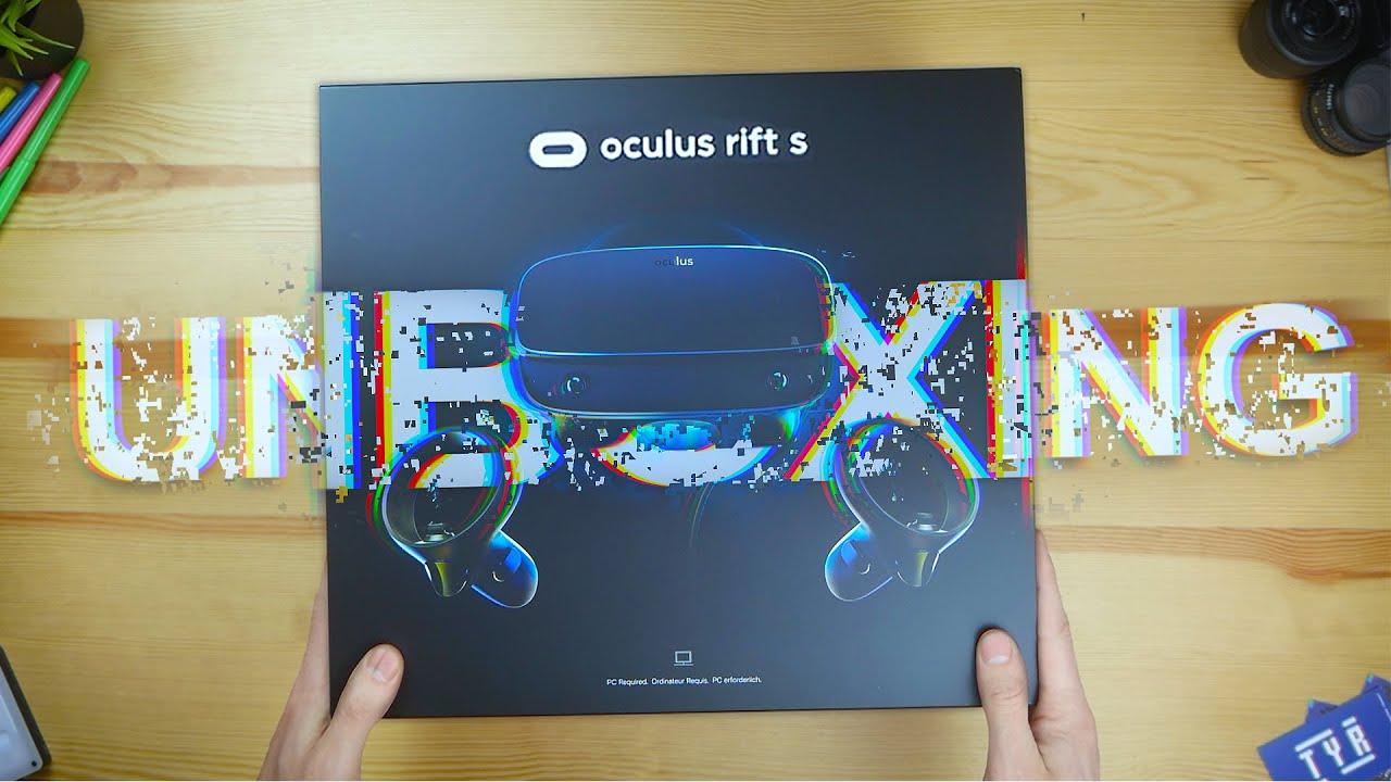 Oculus Rift S - Unboxing & Impressions! ( Plus Passthrough+ )
