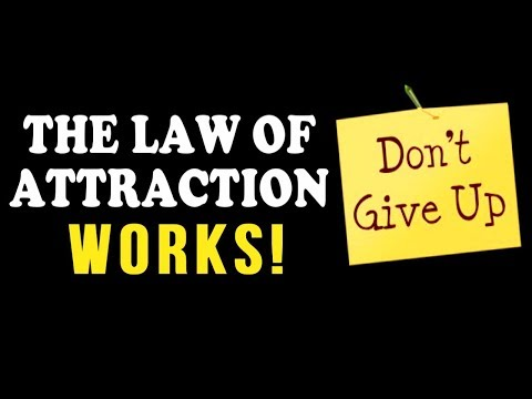 The Law of Attraction WORKS! Ft. Rafael Eliassen (The Secret is Not Giving Up!)