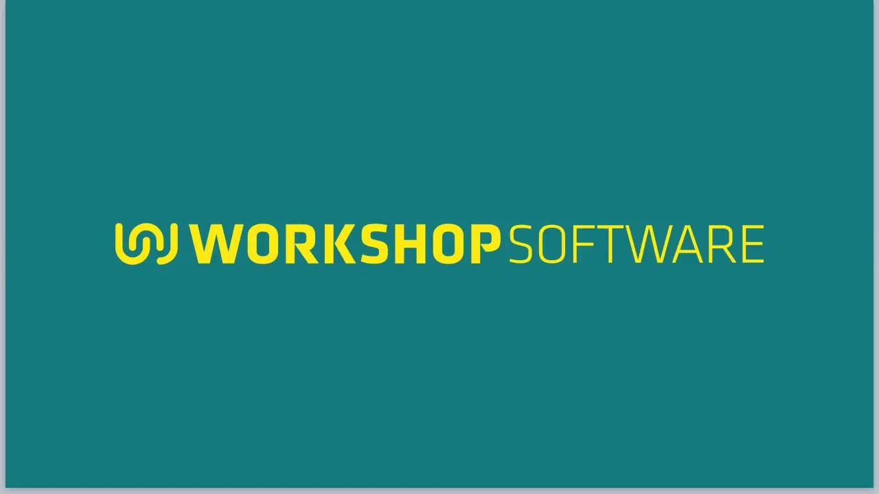 Workshop Software Overview