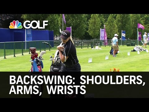 Backswing Tips: Shoulders, Arms & Wrists | Golf Channel