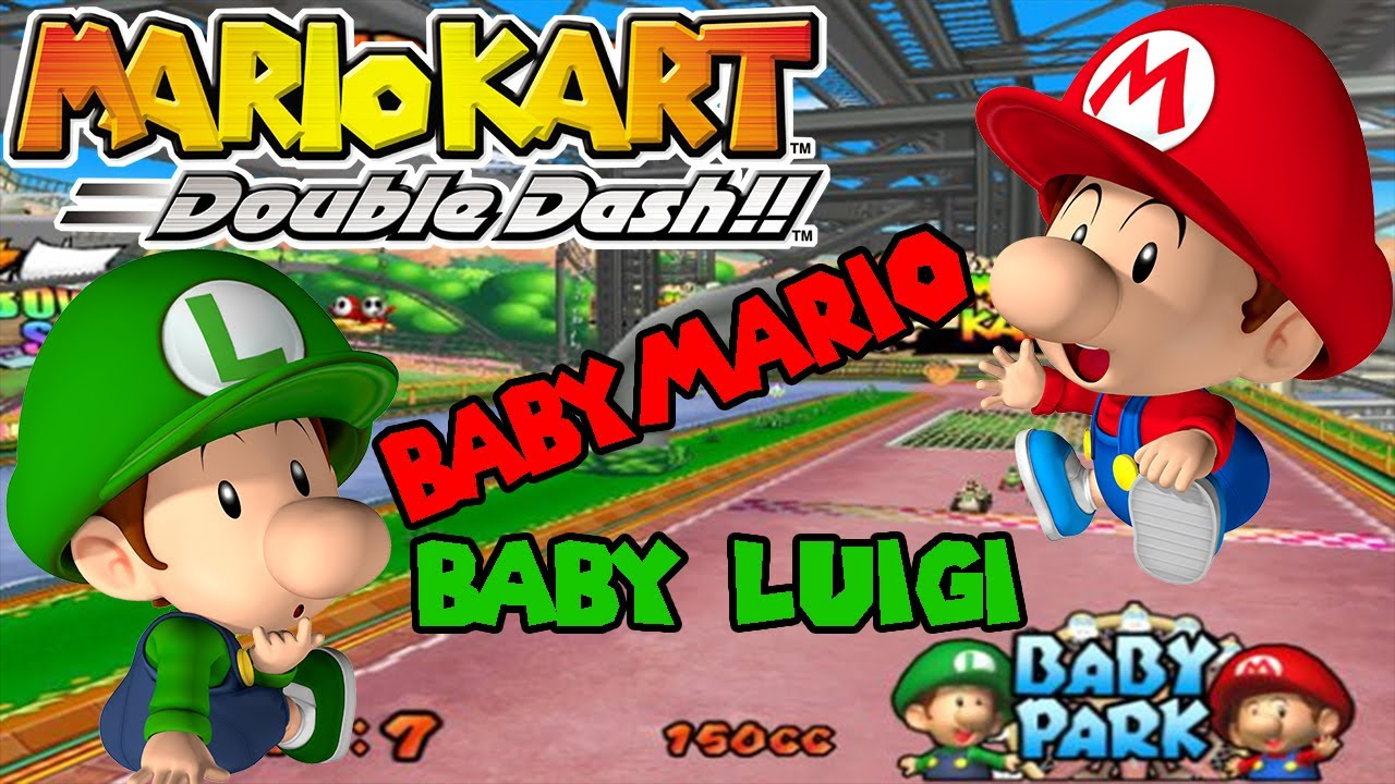 Abm Baby Mario Amp Luigi Mario Kart Double Dash Gameplay