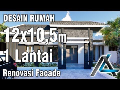desain rumah ukuran 12 x 10 m - sekitar rumah