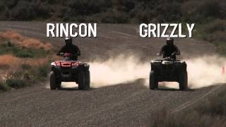 Grizzly 700 vs Rincon 680 - Workability