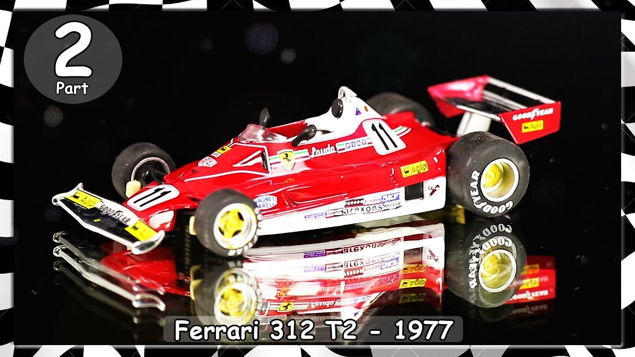 formel 1 rennwagen kollektion niki lauda ferrari 312 t2. Black Bedroom Furniture Sets. Home Design Ideas