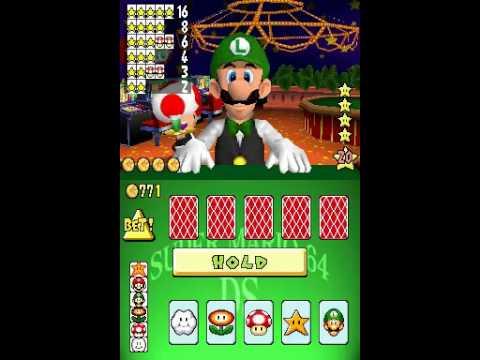 Super Mario 64 Ds Mini Games With Luigi