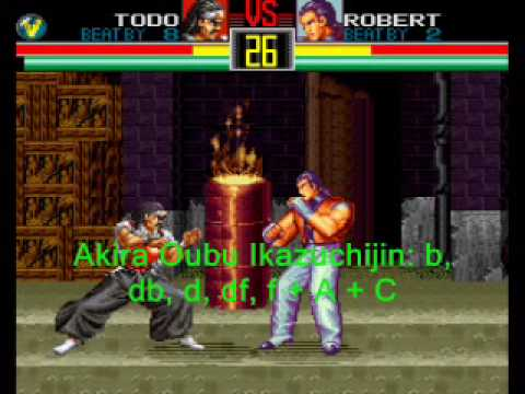 Art Of Fighting: Super Moves