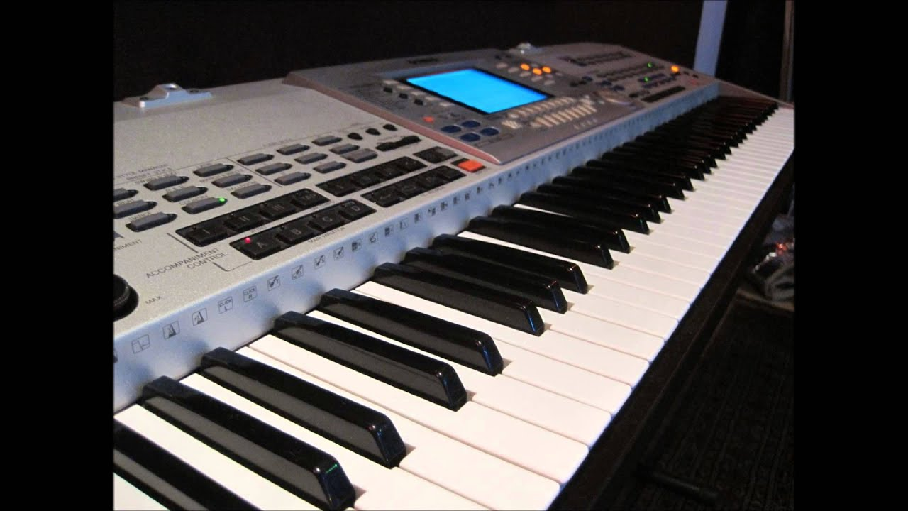 noce nad jeziorem keyboard yamaha psr 9000 pro youtube. Black Bedroom Furniture Sets. Home Design Ideas