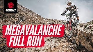 megavalanche 2019 on a hardtail blake samson full pov race run
