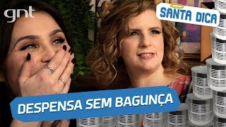 Lu Ferreira pede dicas para organizar sua despensa #5 | Micaela Góes | Santa Ajuda