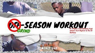 Off-Season Training In Moncks Corner, SC With Berkeley High School Myles Walker & Crew🔥🏈