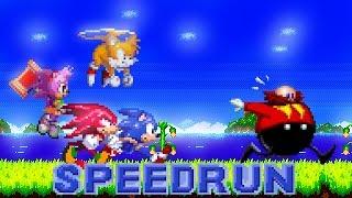 [TAS] Sonic 2 Advanced Edit (SHC 2019) - Speedrun as Sonic