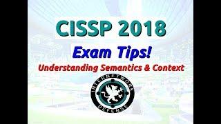 Larry Greenblatt - CISSP 2018 Exam Tips
