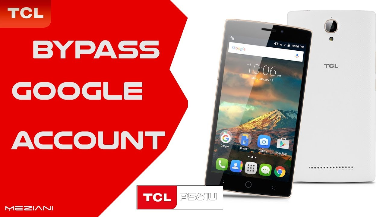 Bypass Google Account TCL P561U Remove FRP