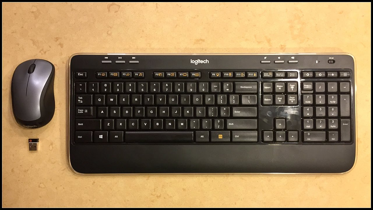 Logitech MK520 Keyboard and Mouse | REVIEW |