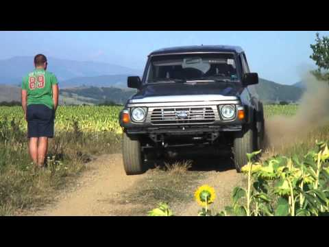 Nissan Patrol RB25DET Hooning - PURE SOUND version