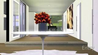SIMS 3 : Ultra Modern Home