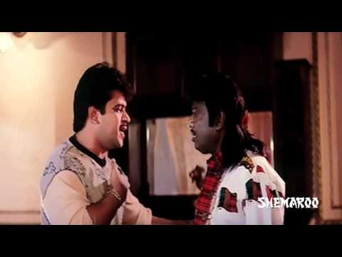 Karna Telugu Movie Comedy Scenes - Vineetha and Arjun bedroom scene - Arjun, Ranjitha, Vineetha