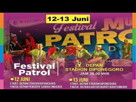 Festival Patrol BANYUWANGI FESTIVAL 2017