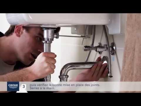 Ideko/® Robinet lavabo Cascade Noir Haut UFO Mitigeur lavabo Robinet Salle de Bain Cascade /& Flexible