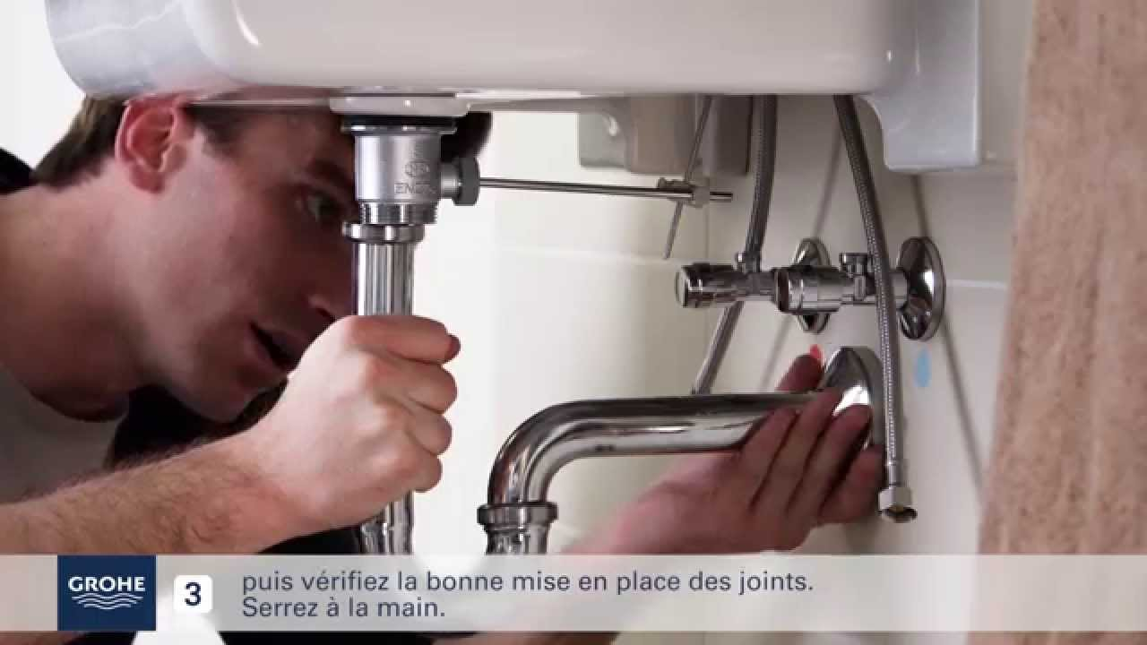 Comment Installer facilement un mitigeur lavabo   YouTube
