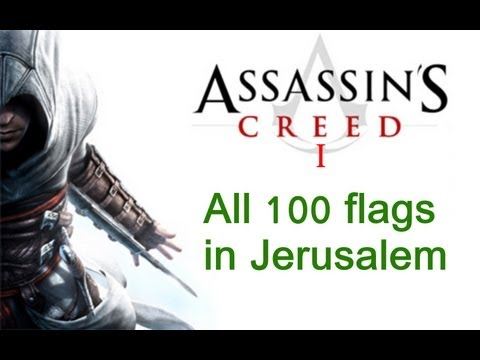 """Assassin's Creed 1"", All 100 flags locations in Jerusalem"