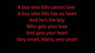 Glee A Boy Like That West Side Story Lyrics