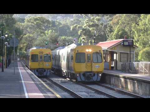Adelaide Metro Trains Mitcham Railway Station November 2015