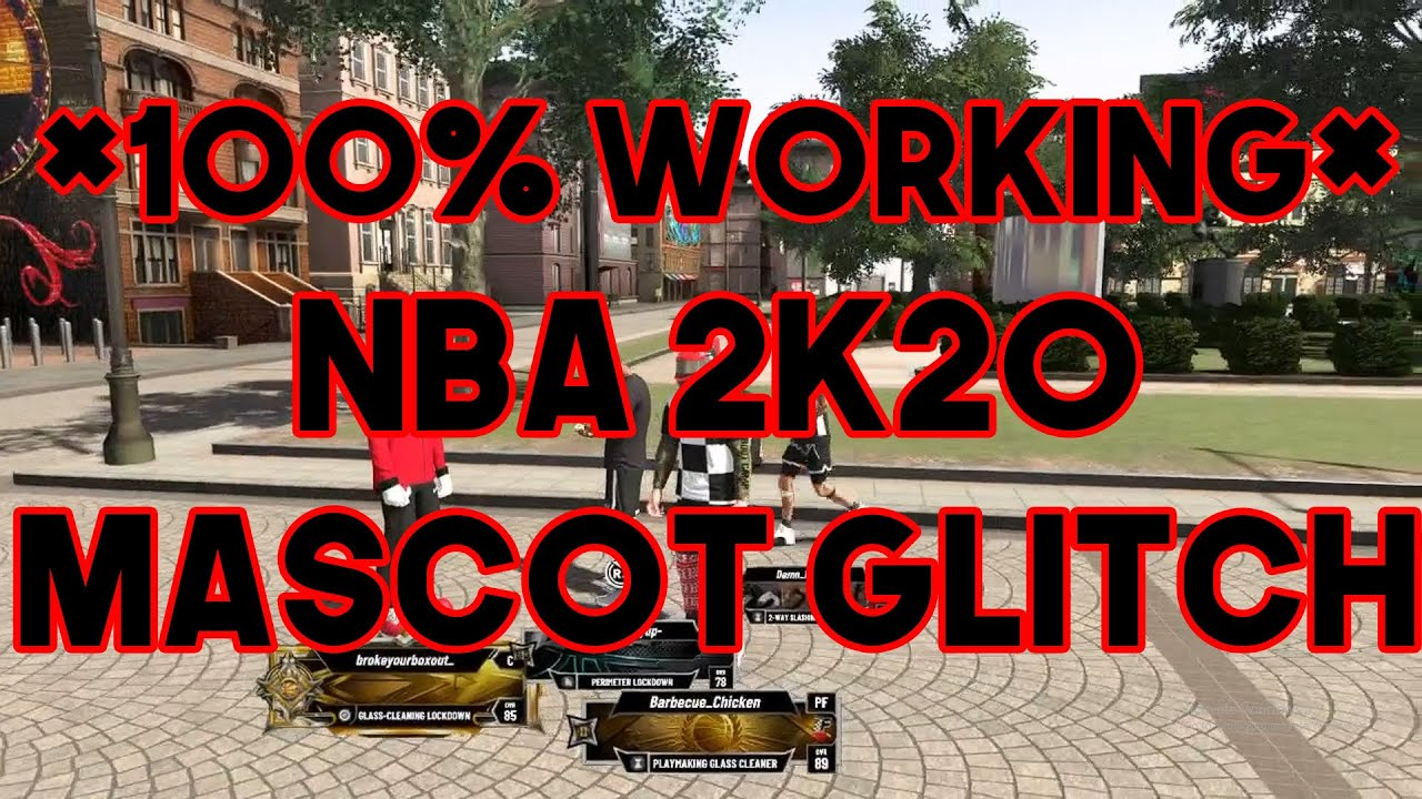* NBA 2K20 * MASCOT GLITCH IS HERE !! 100% WORKING (PS4)