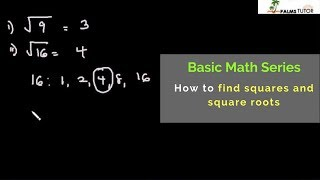 How to find squares and square roots