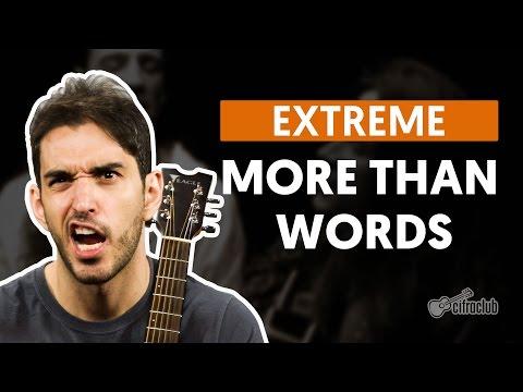 More Than Words - Extreme (aula de violão completa)