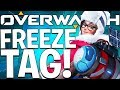 OVERWATCH FREEZE TAG WITH JEROMEASF & FRIENDS!