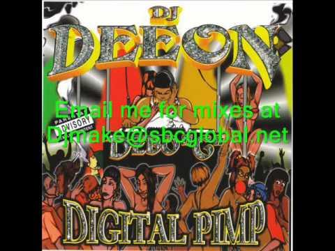Digital Pimp - Dj Deeon aka Debo G - Ghetto House Mix Juke Twerk Mix Chicago House 90's