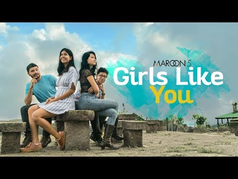 """Girls Like You"" - Maroon 5 - ONE TAKE COVER (Sejal Kumar, Illiyana, Antareep, Surya)"
