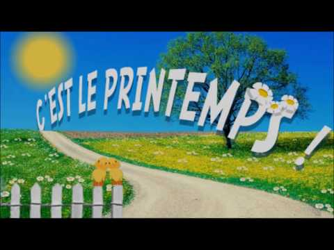 Michel Fugain Le printemps+Paroles