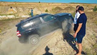 Вот Это Заруба! Смертельный Спор С Toyota Prado 150