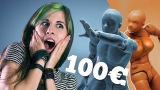 100€ per un MANICHINO da DISEGNO?! Proviamolo! 🐸 Fraffrog