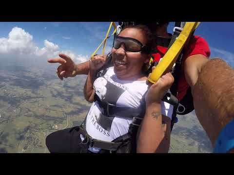 Tandem Skydive | Tracine from Fort Worth, TX