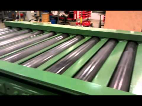 Heavy Duty Powered Roller Conveyor Youtube