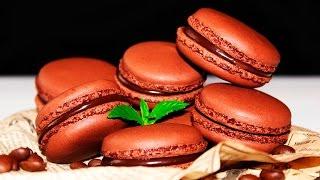 Шоколадно - Кофейные МАКАРОН ♥ Мой Идеальный Рецепт ♥ Рецепты NK cooking