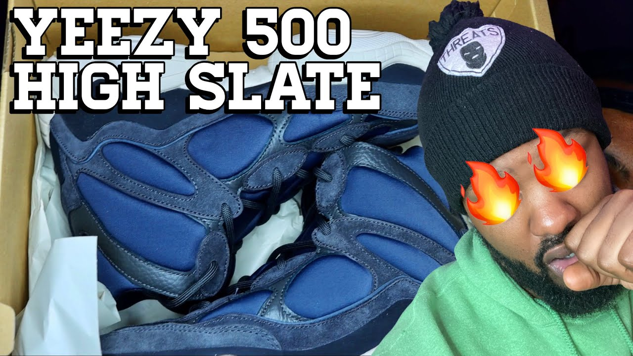 Unboxing   Yeezy 500 High Slate   My First Pair