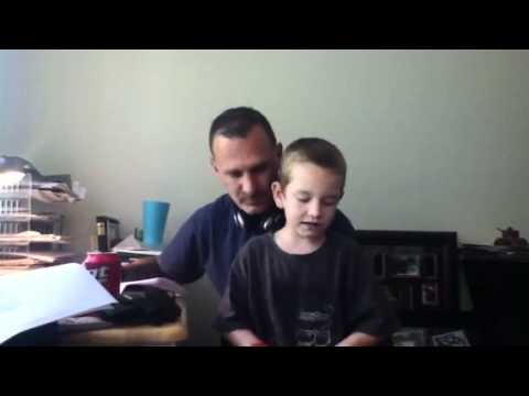 Never be the Same - Grenade (remix) dad & 7 year old