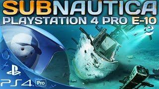 Subnautica PS4 Pro Deutsch Wracktauchen Playstation 4 German Deutsch Gameplay #10
