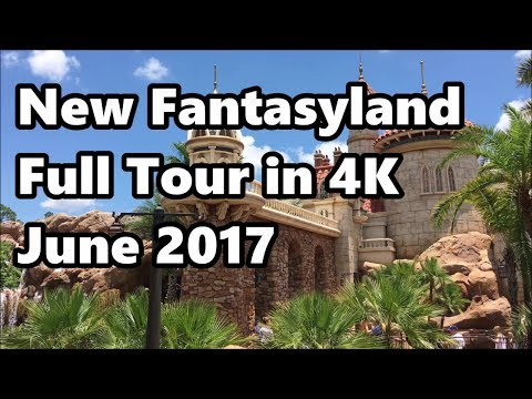 New Fantasyland Tour in 4K | June 2017 | Magic Kingdom | Walt Disney World
