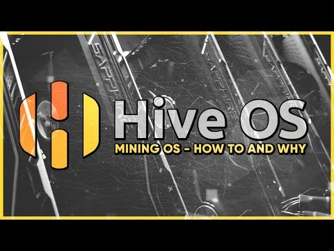 Hive Os - How To & Why (Mining Operating Systems For GPU Rigs) Install & Setup [Cryptomining]