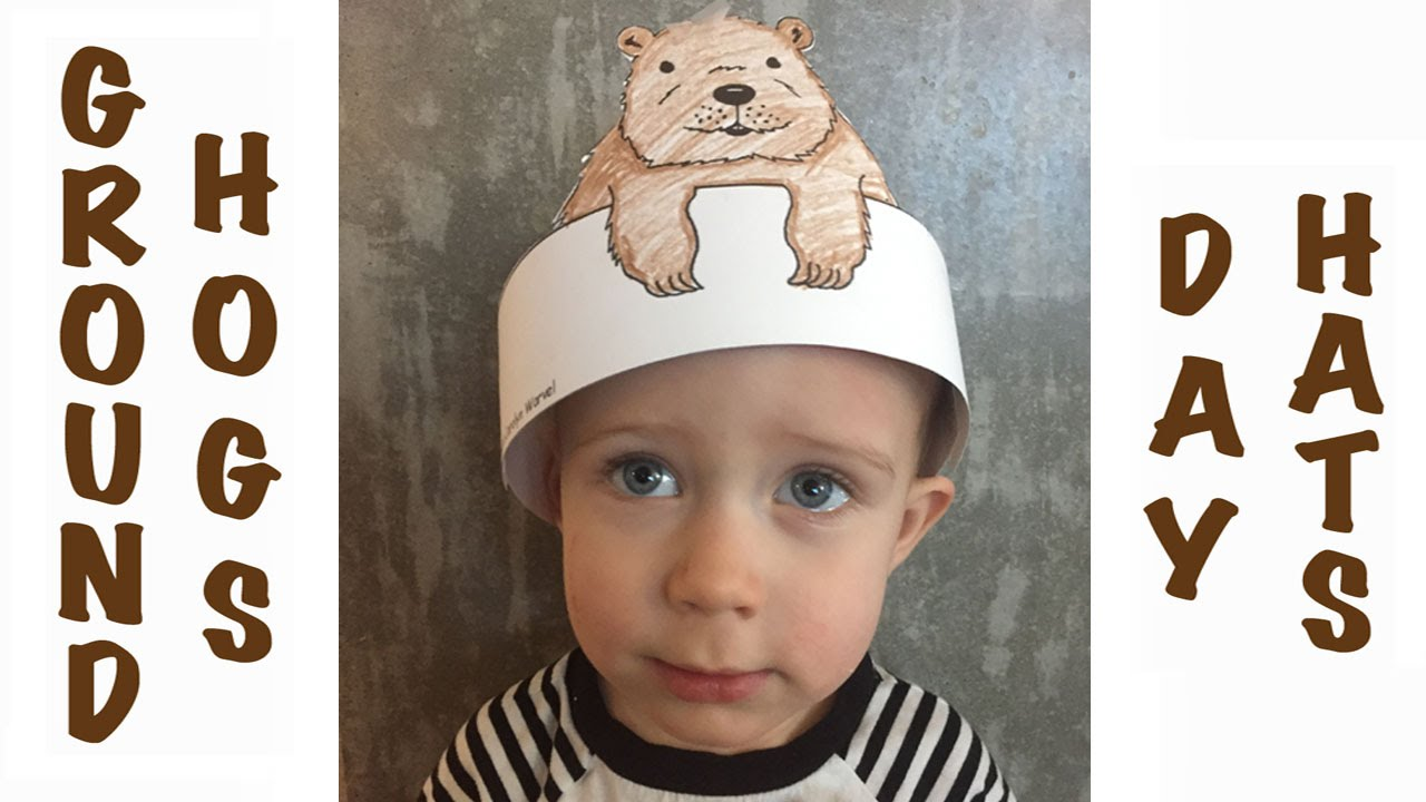 Groundhog S Day Craft For Toddlers Logan S Life Youtube