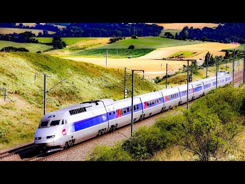 Taking The Train From Dijon To Lyon, France