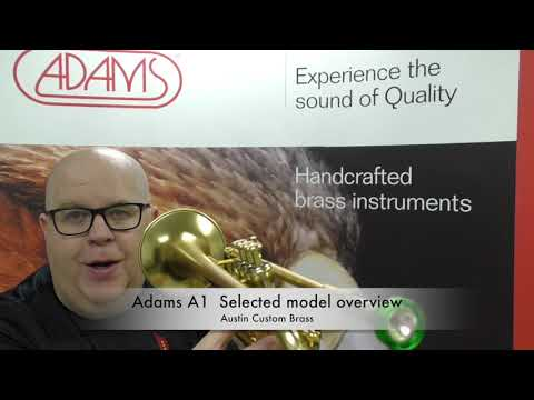 ACB Product Overview of the Adams A1 selected model Trumpet